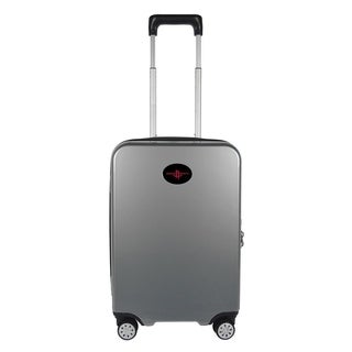 NBA Houston Rockets Luggage Carry-on 22in Hardcase spinner 100% PC in Gray