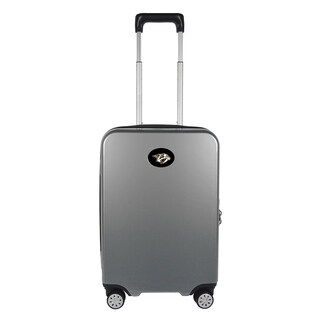 NHL Nashville Predators Luggage Carry-on 22in Hardcase spinner 100% PC in Gray
