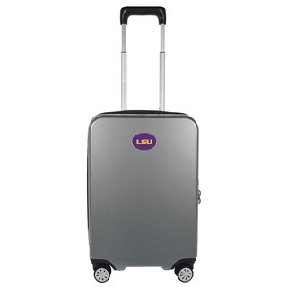 NCAA LSU Luggage Carry-on 22in Hardcase spinner 100% PC in Gray
