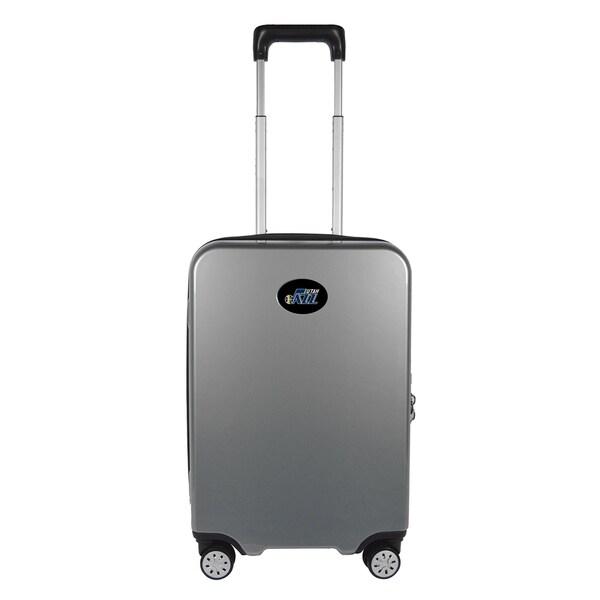 NBA Utah Jazz Luggage Carry-on 22in Hardcase spinner 100% PC in Gray