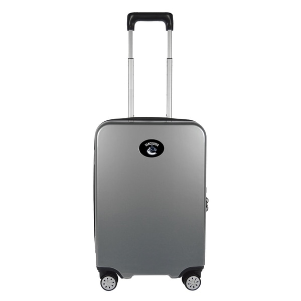 NHL Vancouver Canucks Luggage Carry-on 22in Hardcase spinner 100% PC in Gray 5d5cbbcde