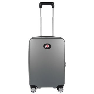 NCAA Utah Luggage Carry-on 22in Hardcase spinner 100% PC in Gray