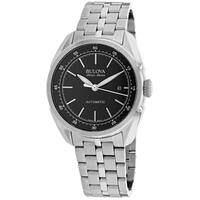 Bulova Men's 63B193 Automatic Stainless Steel Casual Watch, Color:Silver-Toned