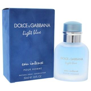 Dolce & Gabbana Light Blue Eau Intense Men's 1.6-ounce Eau de Parfum Spray