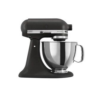 KitchenAid RRK150BM Black Matte 5-quart Artisan Tilt Head Stand Mixer (Refurbished)