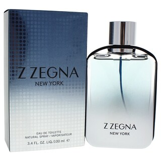 Ermenegildo Zegna Z Zegna New York Men's 3.4-ounce Eau de Toilette Spray