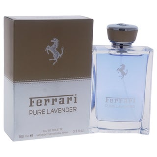 Ferrari Pure Lavender Men's 3.3-ounce Eau de Toilette Spray