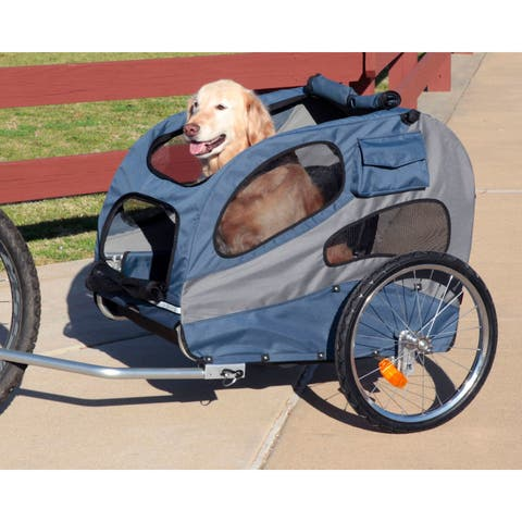 PetSafe Solvit HoundAbout II Bicycle Pet Trailer Large