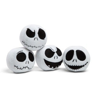 Disney Nightmare Before Christmas Jack Expression Ball Chew / Plush Dog Toy