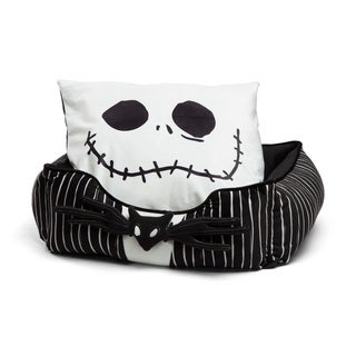 Disney Corded Rectangular Bumper in Nightmare Before Christmas, Jack Stripe