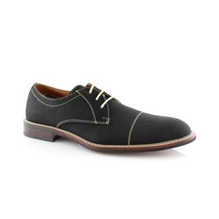 Ferro Aldo Jason MFA19275PL Men's Oxford Dress Shoes With Classic Round Toe Stitch Detailing For work or casual Wear