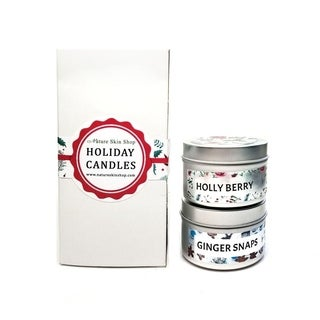 Holiday Wood Wick Candles Gift Set (2 pack)