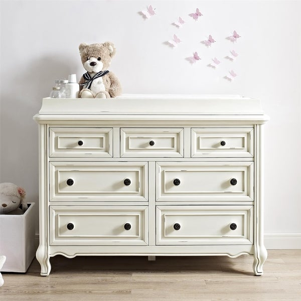 Avenue Greene Antique White Changing Topper