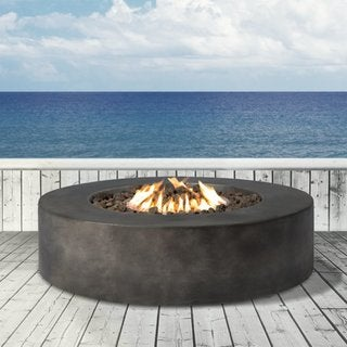 Propane Fire Pit - Fiber reinforced concrete material by Living Source International