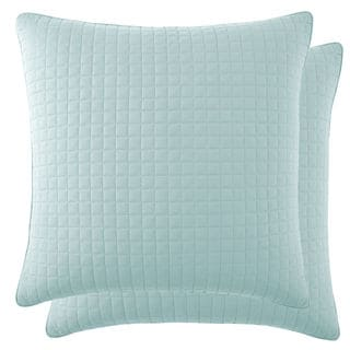 Southshore Fine Linens Vilano Springs Quilted Euro Shams Covers (Set of 2) (As Is Item)