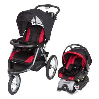 Baby Trend Expedition GLX Jogger Travel System, Firestone