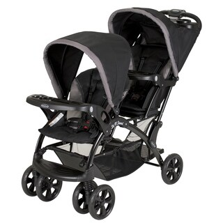 Baby Trend Sit n Stand Double Stroller, Chrome