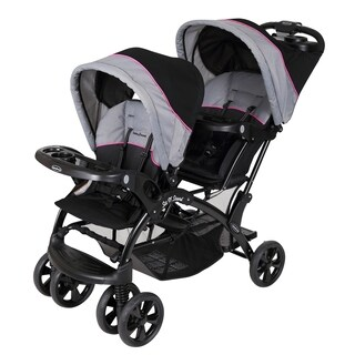 Baby Trend Sit n Stand Double Stroller, Millenium Pink