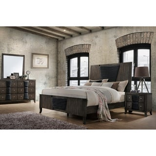 Ash Grey Wood Queen-size Bed