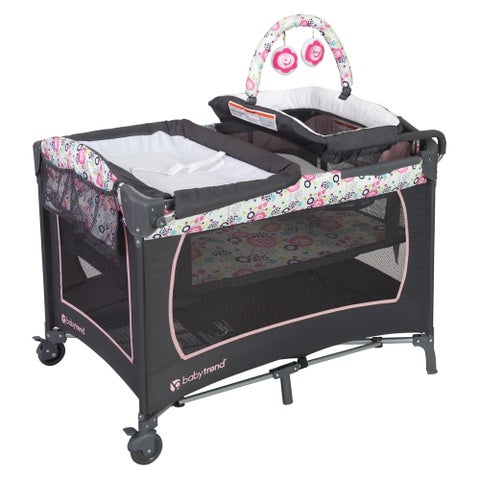 Baby Trend Lil Snooze Nursery Center, Flora