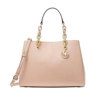 MICHAEL Michael Kors Cynthia Medium Convertible Satchel Soft Pink