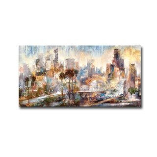 Downtown Pano by Bruce Marion Gallery-Wrapped Canvas Giclee Art