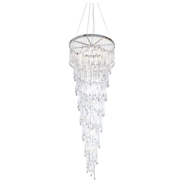 The Drizzle 26 Light Crystal Chandelier