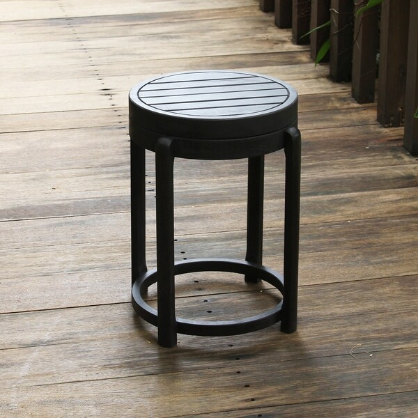 Cambridge Casual Alston Painted Side Table & Stool