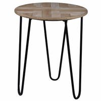Elegantly Charmed Prescott Round Coffee Table
