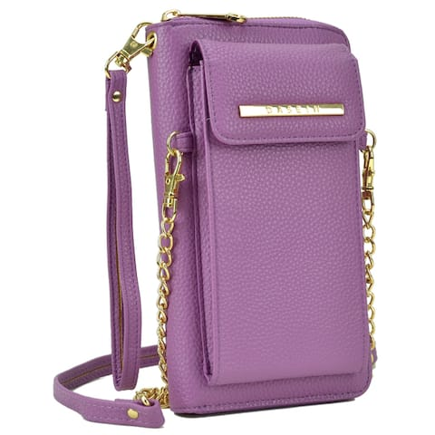 8139f4d61b24 Dasein All-In-One Crossbody Wallet With Phone Case and Detachable Chain  Strap