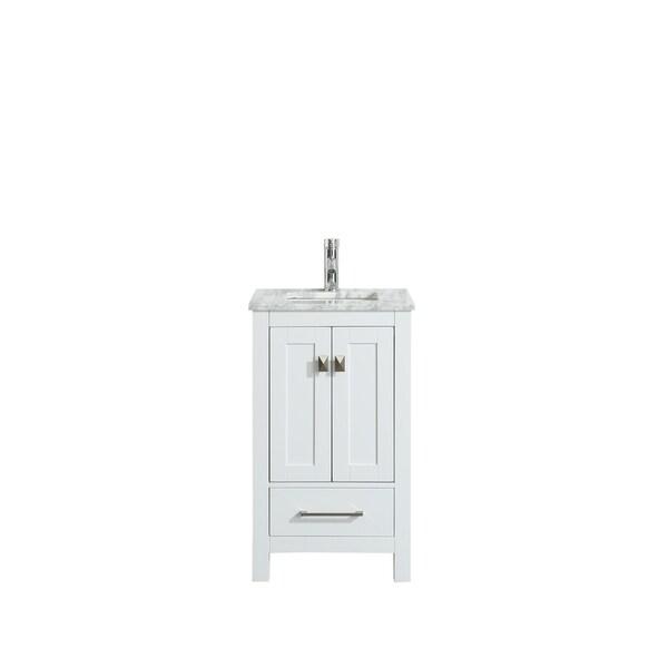 "Eviva London 24"" White bathroom vanity"