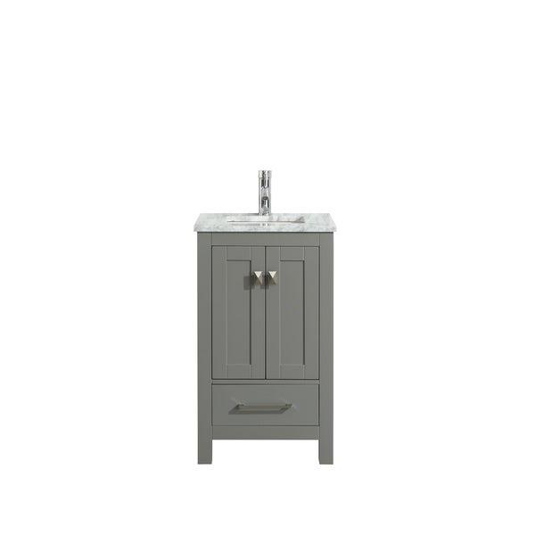"Eviva London 30"" Grey bathroom vanity"