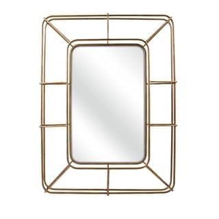Thomas Wall Mirror - Gold - Benzara