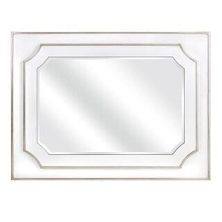 Benzara Talitha White Wall Mirror