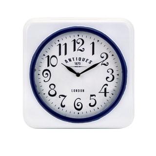 Greensboro Wall Clock - Blue - Benzara