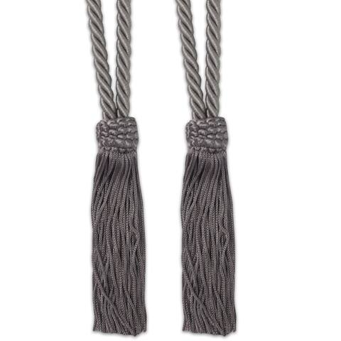 V-Cord Braided Tassel Tieback Set of 2 (Assorted Colors)