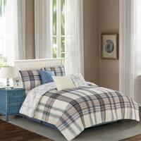 Wonder Home Alexis 7PC Yarn Dye Print Comforter Set