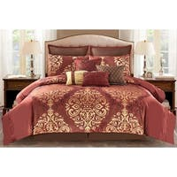 Wonder Home Patrice 10PC Jacquard Comforter Set