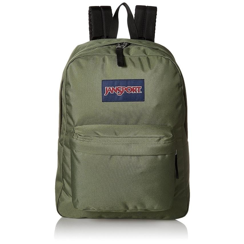 JanSport SuperBreak Backpack - Muted Green - JS00T5010HC