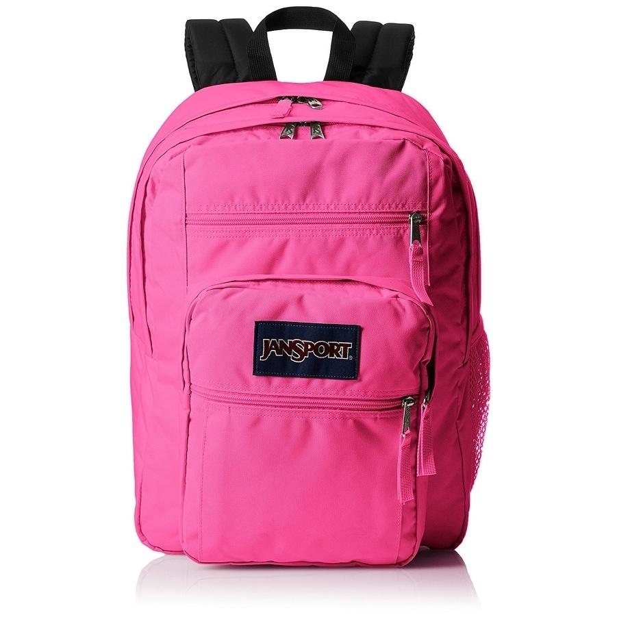 JANSPORT Big Student Backpack - 17.5 Inch - Ultra Pink - ...