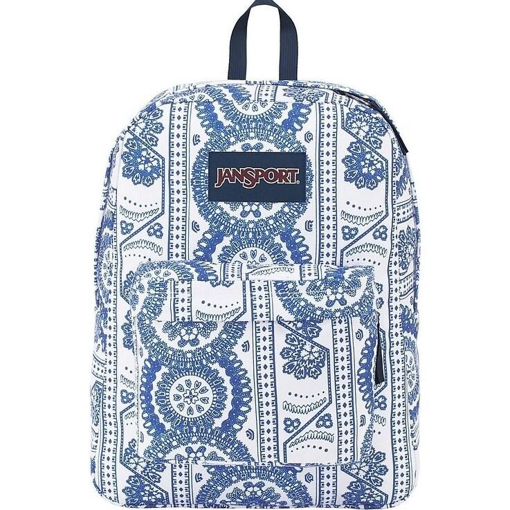 JANSPORT SuperBreak Backpack - White Swedish Lace - JS00T...