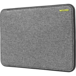Incase Designs ICON Sleeve with TENSAERLITE for 13 Inch MacBook Pro Retina - Heather Gray / Black - CL60647