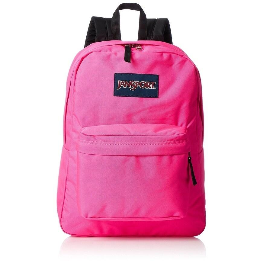 JANSPORT SuperBreak Backpack - Ultra Pink - JS00T5010R4