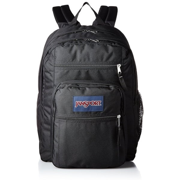 Shop Jansport Big Student Backpack - Black - JS00TDN7008 - Free Shipping  Today - Overstock - 18271640 44eba3ce2abb0