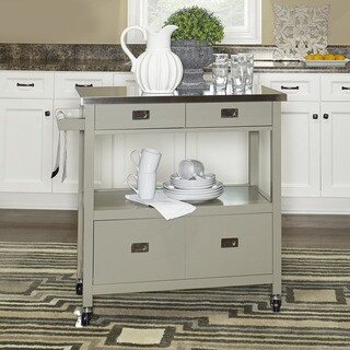 Julianna Stainless Steel Cart