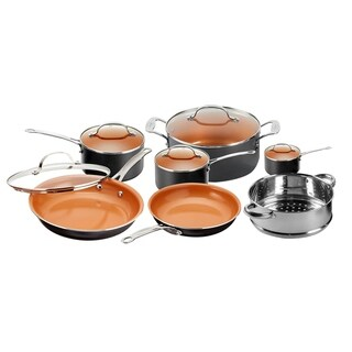 Gotham Steel 12 Piece Non-stick Copper Cookware Set