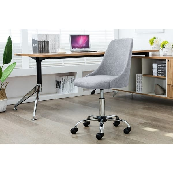 Shop Porthos Home Office Chair With Fabric Upholstery Adjustable Height On Sale Overstock 18272312