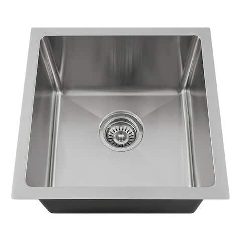 "1717 Single Bowl 3/4"" Stainless Steel Sink"