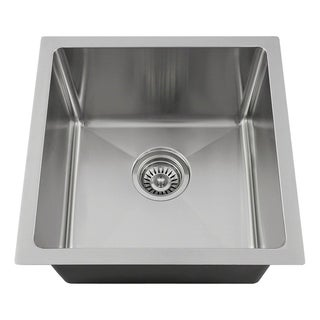 "1717 Single Bowl 3/4"" Stainless Steel Sink"