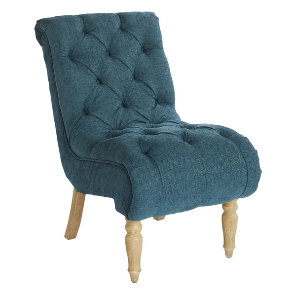 Shop Osp Home Furnishings Matthew Tufted Fabric Living Room Chair